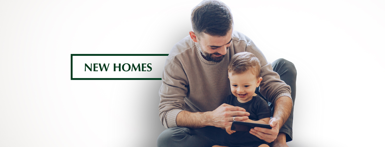 New Homes banner