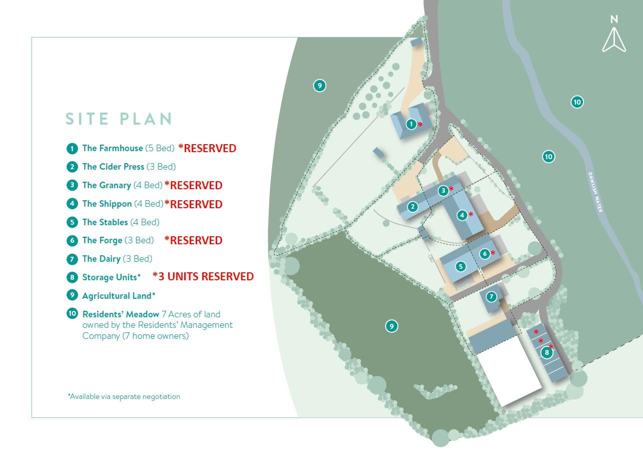 Weston Farm Estate Siteplan